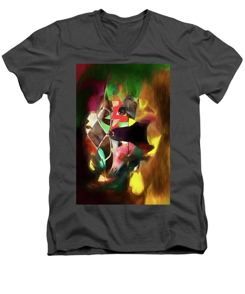 Untitled Work No. 3 Men's V-Neck T-Shirt