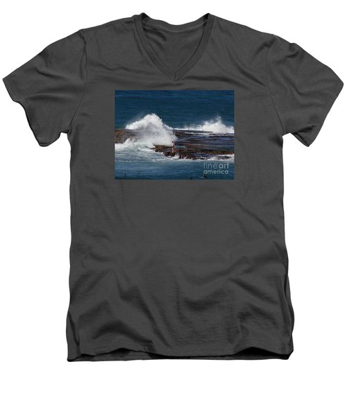 Unwitting Swimmer Men's V-Neck T-Shirt
