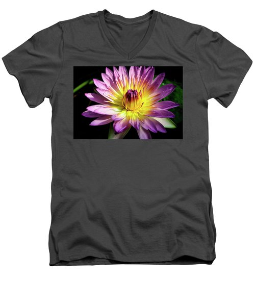 Up Close And Personal Men's V-Neck T-Shirt