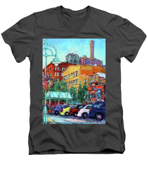 Up On Broadway Men's V-Neck T-Shirt