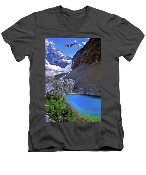 Up, Up, And Away Men's V-Neck T-Shirt