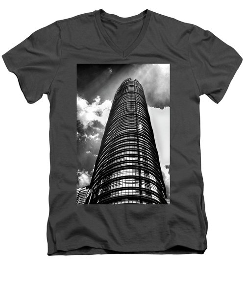 Men's V-Neck T-Shirt featuring the photograph Up Up And Up by Joseph Hollingsworth