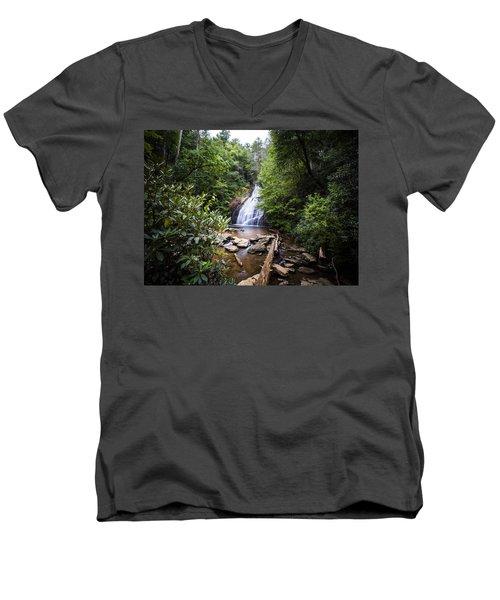 Upper Helton Falls Men's V-Neck T-Shirt