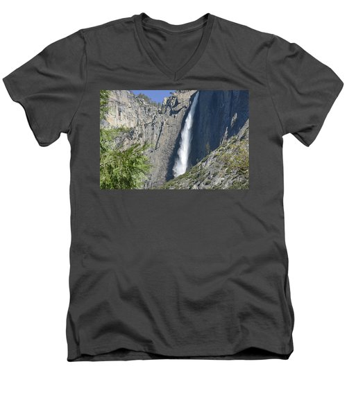 Upper Yosemite Falls Men's V-Neck T-Shirt