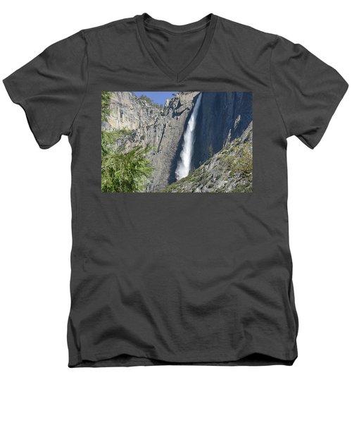 Upper Yosemite Falls Men's V-Neck T-Shirt