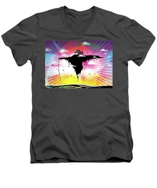 Ups And Downs Men's V-Neck T-Shirt