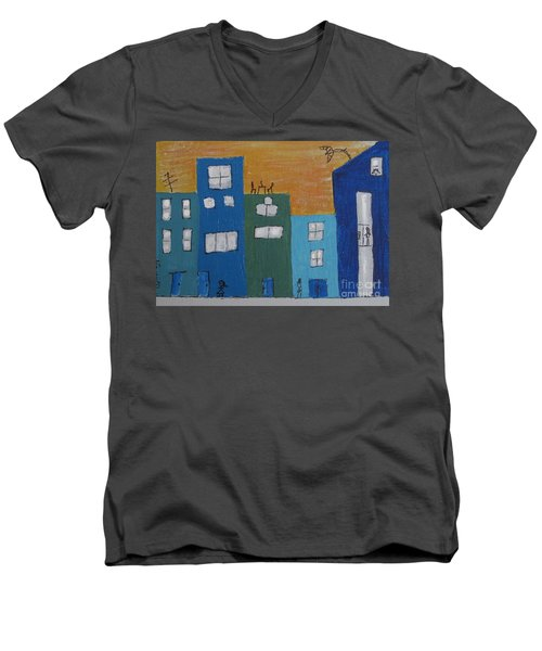 Uptown Fun Men's V-Neck T-Shirt