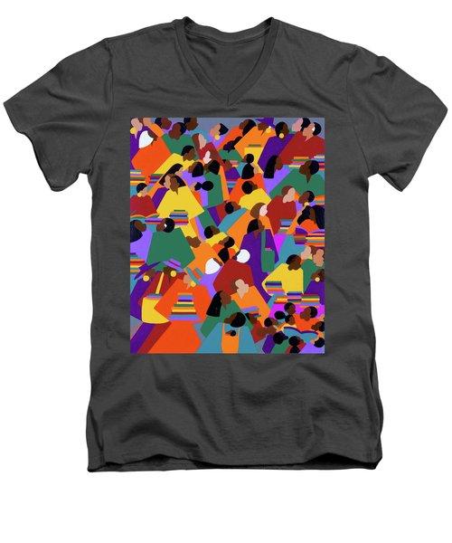 Uptown Men's V-Neck T-Shirt