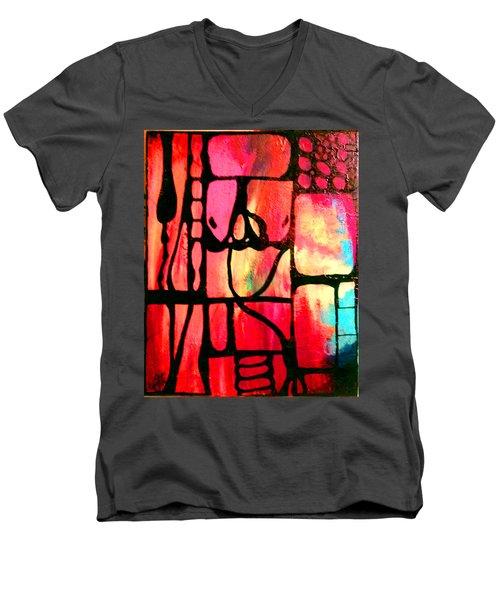 Upward Men's V-Neck T-Shirt