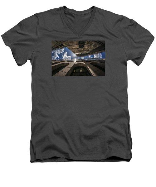 Urban Canyon Sunburst Men's V-Neck T-Shirt