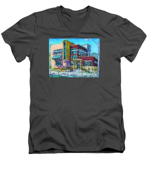 Uec On Site Men's V-Neck T-Shirt