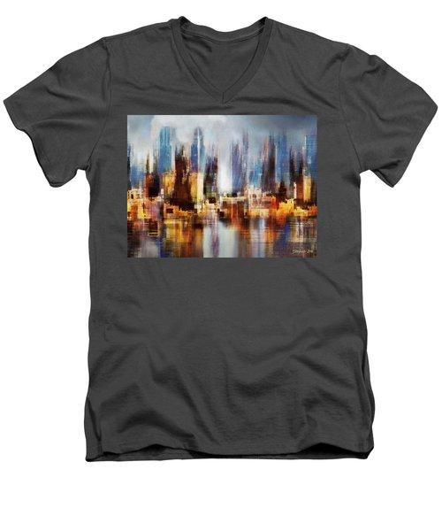Urban Morning II Men's V-Neck T-Shirt
