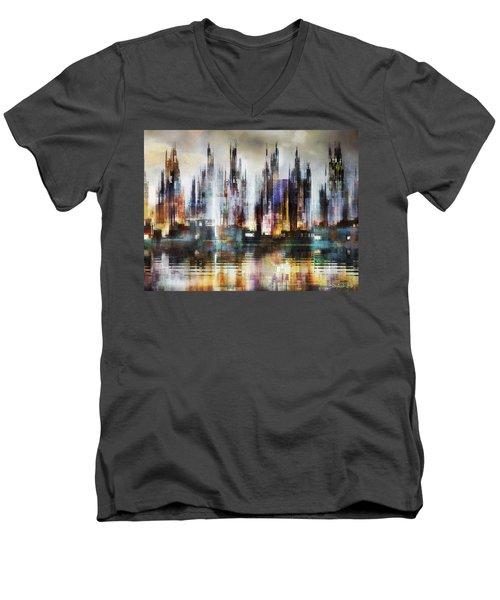 Urban Morning IIi Men's V-Neck T-Shirt