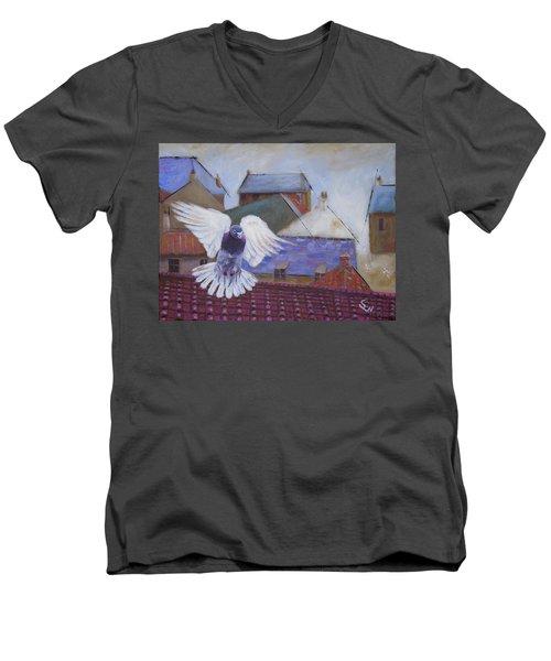 Urban Pigeon Men's V-Neck T-Shirt