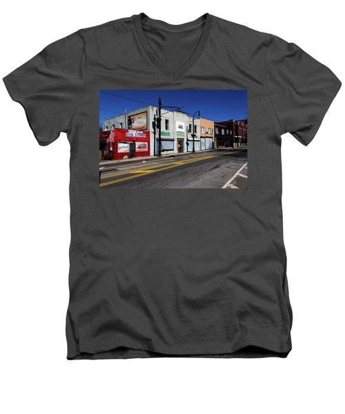 Urban Street Life Men's V-Neck T-Shirt
