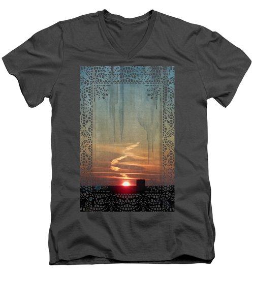 Urban Sunrise Men's V-Neck T-Shirt