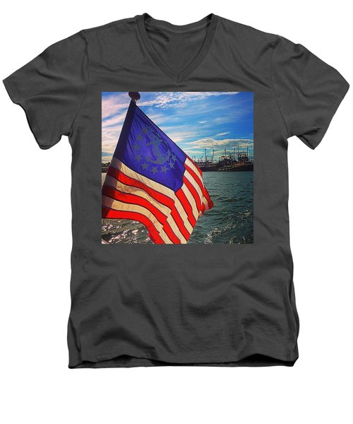 An American Tale Men's V-Neck T-Shirt