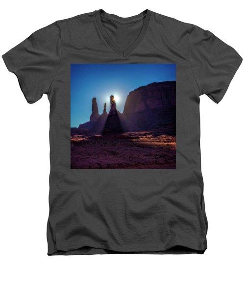 Utah Sunshine Men's V-Neck T-Shirt