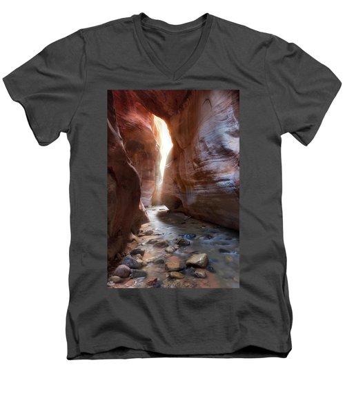 Utah's Underworld Men's V-Neck T-Shirt