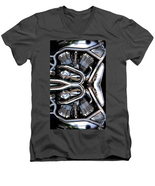 V-rod Reflected Men's V-Neck T-Shirt
