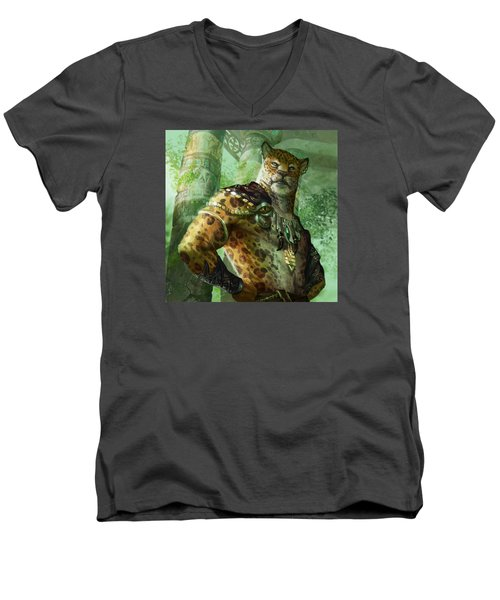 Vah Shir Royal Men's V-Neck T-Shirt