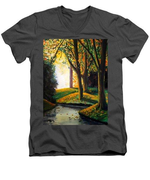 Vale Park  Men's V-Neck T-Shirt