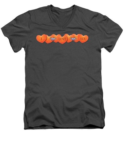 Valentine 07 Men's V-Neck T-Shirt