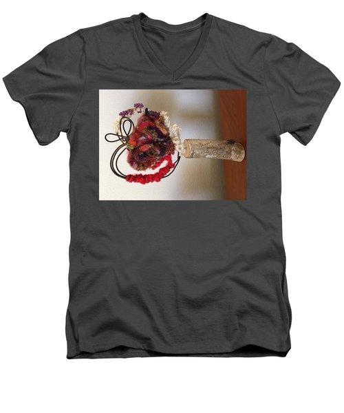 Valentine Men's V-Neck T-Shirt