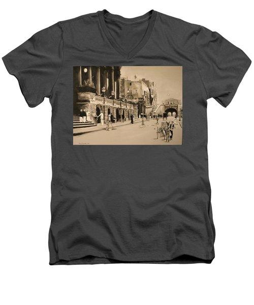 Valletta Entrance 1935 Men's V-Neck T-Shirt