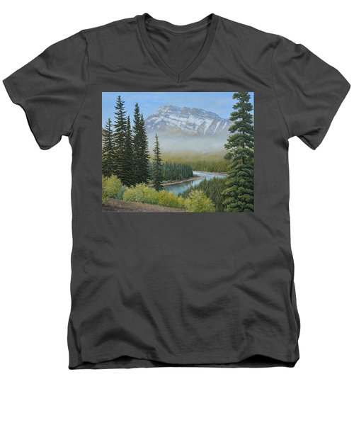 Valley Floor Men's V-Neck T-Shirt