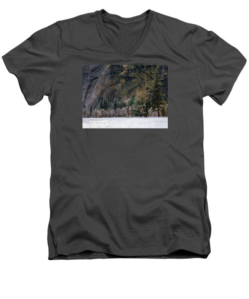 Valley Morning Men's V-Neck T-Shirt