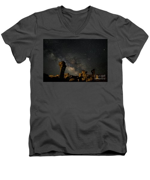 Valley Of Dreams Men's V-Neck T-Shirt by Keith Kapple