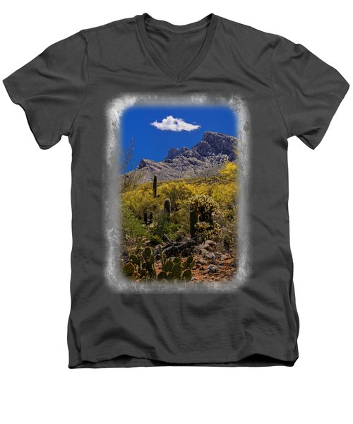 Valley View No.2 Men's V-Neck T-Shirt