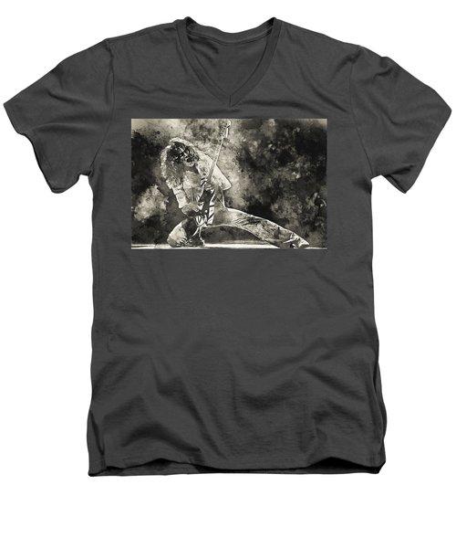 Van Halen - 09 Men's V-Neck T-Shirt
