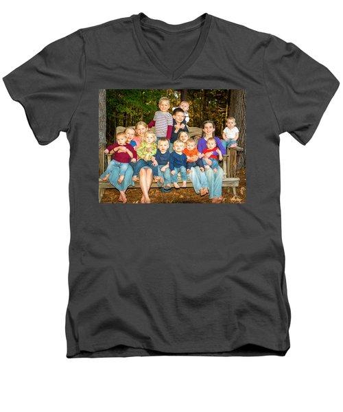 Vandoren 6560 Men's V-Neck T-Shirt