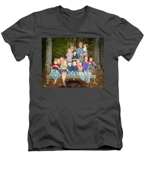 Vandoren 6564 Men's V-Neck T-Shirt