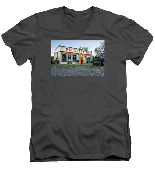 Vanishing America Men's V-Neck T-Shirt