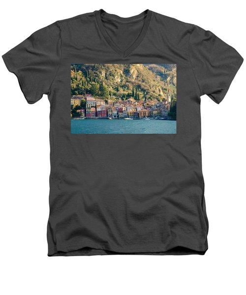 Varenna Village Men's V-Neck T-Shirt