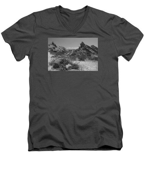 Vasquez Rocks Men's V-Neck T-Shirt