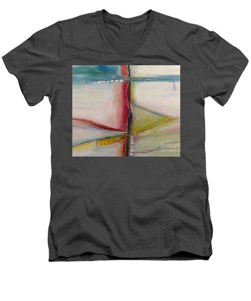 Vegetable Sides Men's V-Neck T-Shirt by Gallery Messina