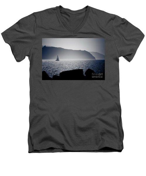 Vela Men's V-Neck T-Shirt
