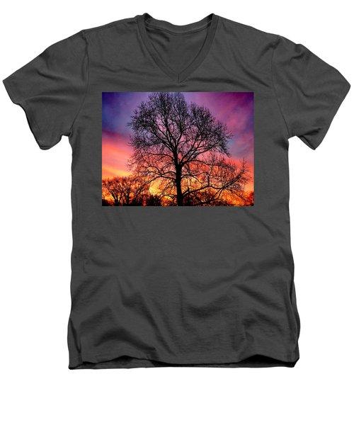 Velvet Mood Men's V-Neck T-Shirt