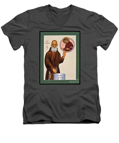 Venerable Fr. Solanus Casey The Healer 038 Men's V-Neck T-Shirt by William Hart McNichols