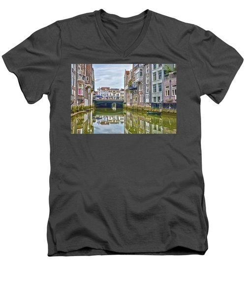 Venetian Vibe In Dordrecht Men's V-Neck T-Shirt