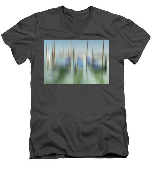 Venice Gondolas Impression 1 Men's V-Neck T-Shirt