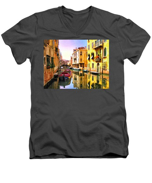 Venice Morning Men's V-Neck T-Shirt