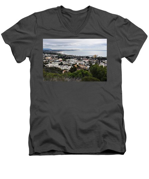 Ventura Coast Skyline Men's V-Neck T-Shirt