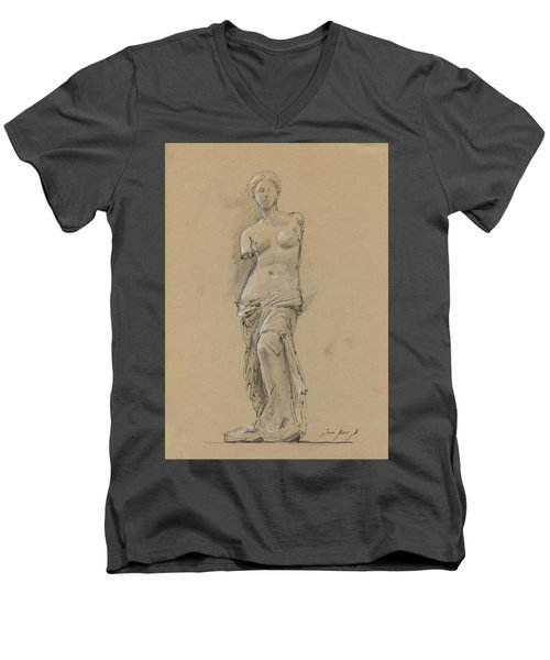 Venus De Milo Men's V-Neck T-Shirt