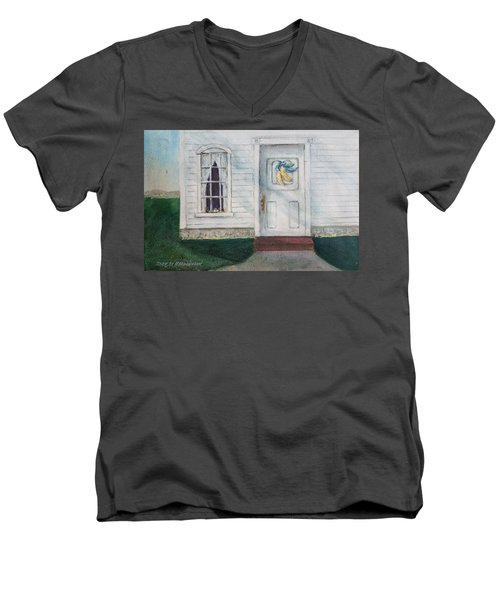Vermont Fall Colors Men's V-Neck T-Shirt