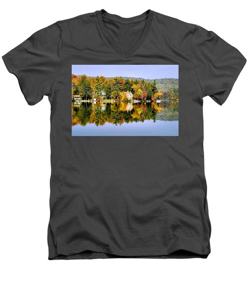 Vermont Reflections Men's V-Neck T-Shirt